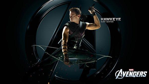 Bilder Marvel's The Avengers 2012 Jeremy Renner Bogenschütze HAWKEYE Film 600x337