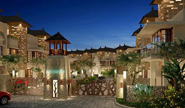 Fonds d 39 ecran 1280x800 resort indon sie bali h tel design for Design hotel bali