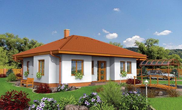 Fonds d 39 ecran maison am nagement paysager herbe gazon - Amenagement maison 3d ...