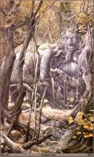 Fotos & Bilder Alan Lee the stone trolls Fantasy fotos