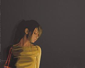 Hintergrundbilder Vektorgrafik 3D-Grafik Mädchens