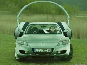 Fondos de Pantalla Mazda Auriculares Frente Coches