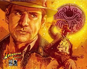 Wallpaper Indiana Jones Indiana Jones and the Kingdom of the Crystal Skull
