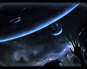 Wallpapers Technics Fantasy Planet Fantasy Space