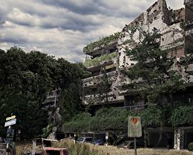 Desktop hintergrundbilder Ruinen Städte