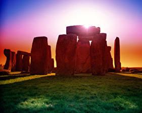Hintergrundbilder Ruinen Vereinigtes Königreich Natur