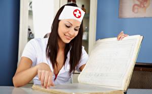 Fotos Krankenschwester Mädchens