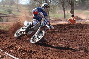 Fotos & Bilder Motocross Motorrad Sport fotos