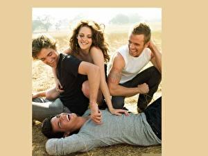 Wallpapers Kristen Stewart Robert Pattinson Cam Gigandet Taylor Lautner Celebrities