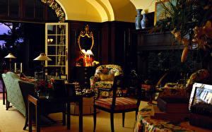 Wallpapers Interior Retro Chairs Design