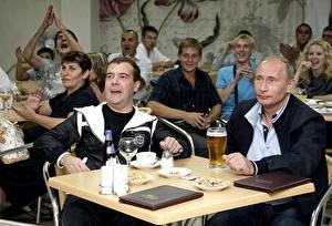 Hintergrundbilder Vladimir Putin Dmitry Medvedev Präsident
