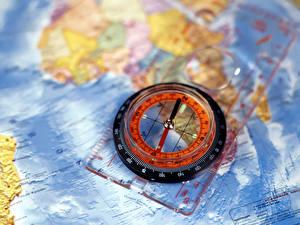 Fotos Geographie Kompass