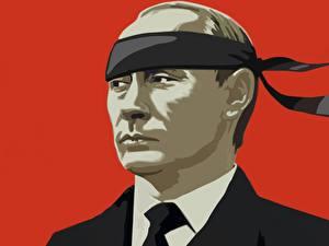 Fotos Vladimir Putin Vektorgrafik Präsident Humor
