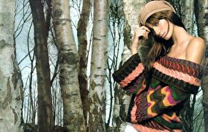 Hintergrundbilder Eugenia Volodina Mädchens