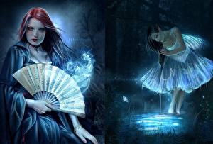 Hintergrundbilder Ana Fagarazzi Fantasy