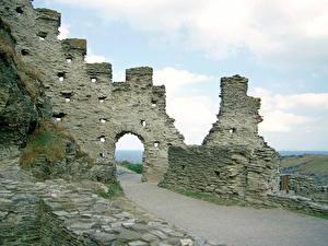 Bilder Ruinen Vereinigtes Königreich  Städte