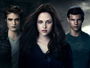 Picture The Twilight Saga Eclipse The Twilight Saga Robert Pattinson Kristen Stewart Taylor Lautner