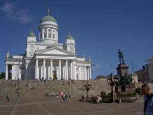 Fotos Tempel Finnland Helsinki