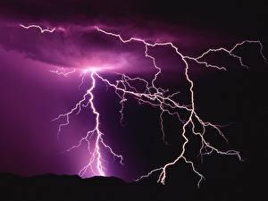 Bilder Naturkraft Blitz Natur