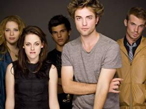 Wallpapers Robert Pattinson Kristen Stewart Taylor Lautner Cam Gigandet Celebrities
