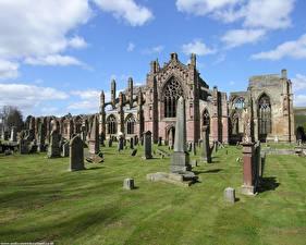 Hintergrundbilder Ruinen Schottland