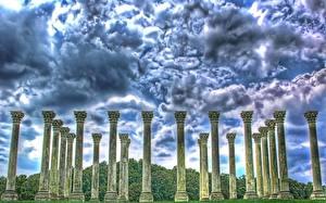Fotos Ruinen Säulen