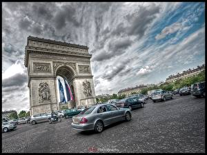 Picture Famous buildings France Arch Cities