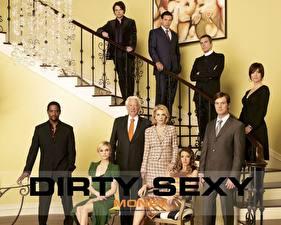 Desktop wallpapers Dirty Sexy Money Movies