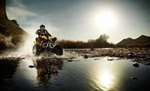 Hintergrundbilder ATV Motorrad