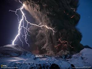 Hintergrundbilder Naturkraft Blitz