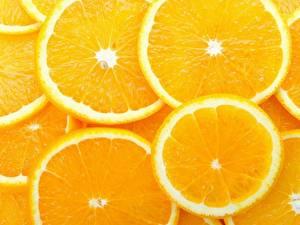 Fotos & Bilder Obst Zitrusfrüchte Orange Frucht Geschnitten Lebensmittel fotos