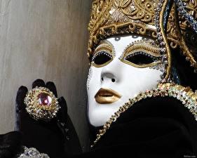 Papéis de parede Máscara Feriados Carnaval e baile de máscaras