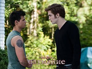 Photo The Twilight Saga Eclipse The Twilight Saga Robert Pattinson Taylor Lautner