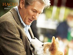 Desktop wallpapers Hachiko: A Dog's Story Movies