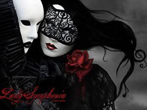 Papéis de parede Feriados Máscara Carnaval e baile de máscaras