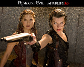 Wallpaper Resident Evil - Movies Resident Evil 4: Afterlife Milla Jovovich Movies