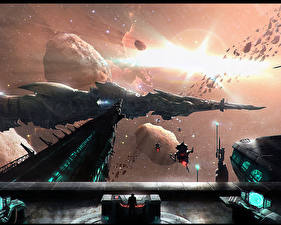 Wallpaper Technics Fantasy Ships Fantasy Space