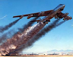 Bilder Flugzeuge Boeing Boeing B-47B April 15 1954