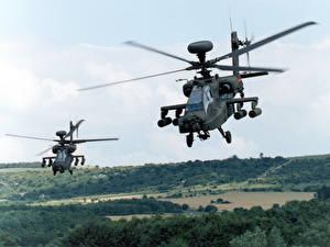 Bilder Hubschrauber AH-64 Apache AH-64D Longbow