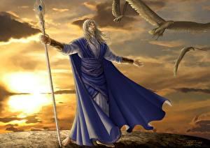 Hintergrundbilder Magie Magier Hexer Fantasy