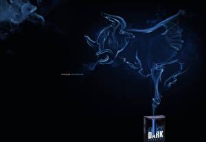 Hintergrundbilder Markenartikel Rinder Rauch