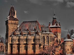 Bilder Burg Budapest Ungarn