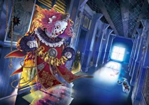 Hintergrundbilder Clown Korridor Anime