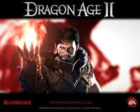 Hintergrundbilder Dragon Age Dragon Age II Magier Hexer Spiele