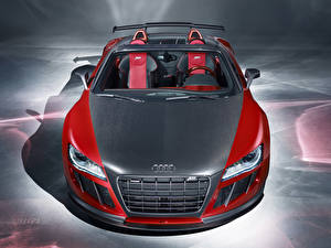Picture Audi Carbon fiber Convertible Red R8 GT Cars