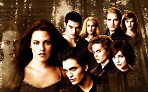Bakgrundsbilder på skrivbordet The Twilight Saga The Twilight Saga: New Moon Kristen Stewart