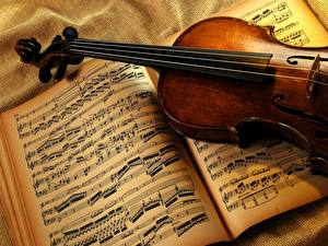 Fotos Musikinstrumente Noten
