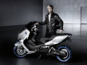 Fotos Motorroller BMW Scooter C Concept