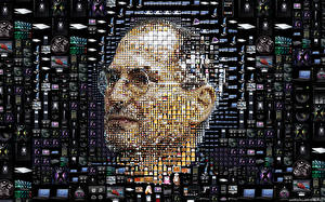 Wallpaper Apple Steve Jobs