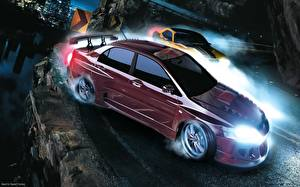 Desktop wallpapers Need for Speed Need for Speed Carbon vdeo game